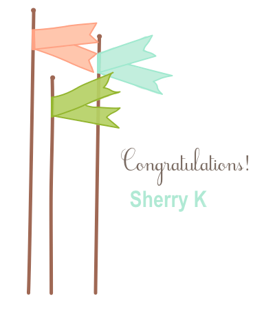 Winner Sherry K