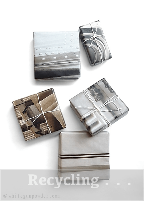 Catalog/Magazine pages, gift wrapping