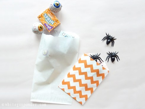 Halloween Packaging with paper bags