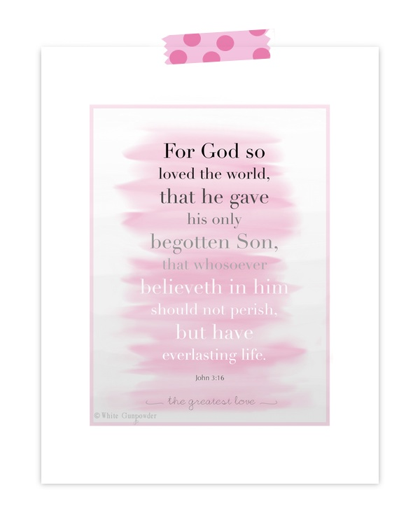Bible verse John 3-16