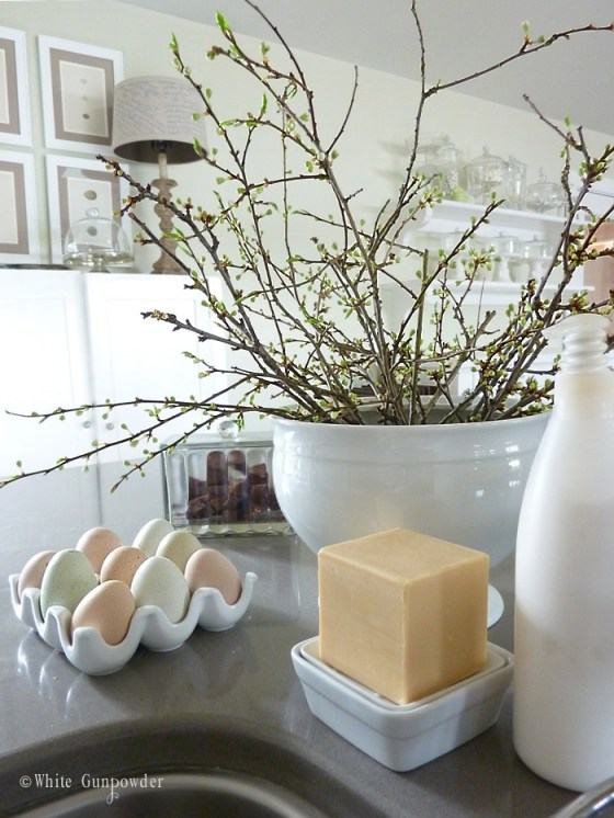 Decorating with eggs