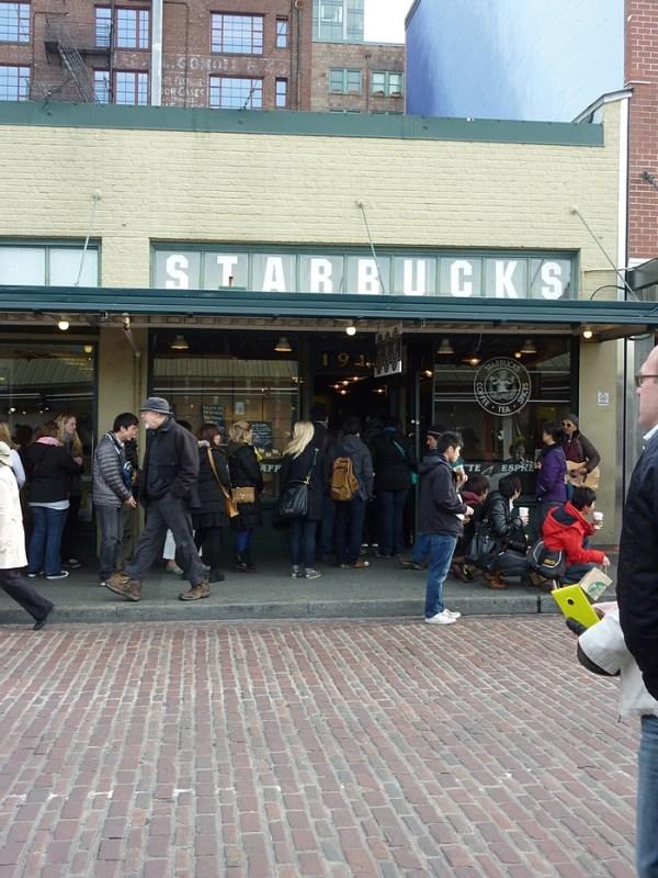 Pike Place Market,  Starbucks