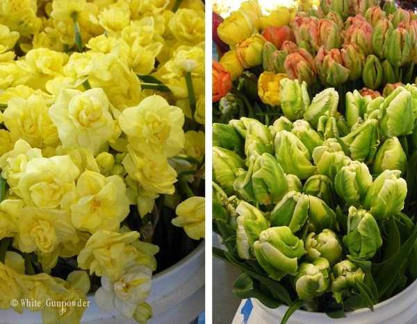 Pike Place Market, flowers