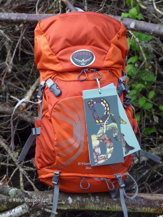 Happy Father's Day,  Osprey backpack