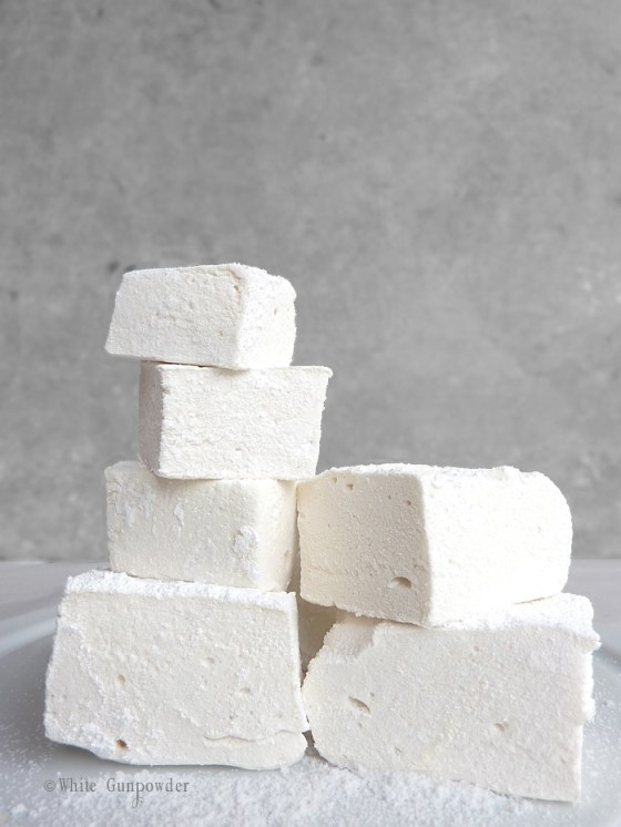 Summer,  homemade marshmallows