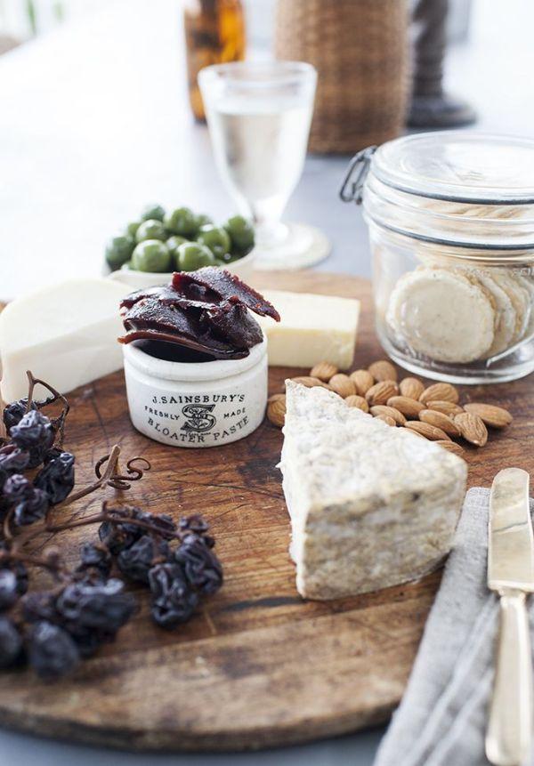 Cheese platter by Kara Rosenlund