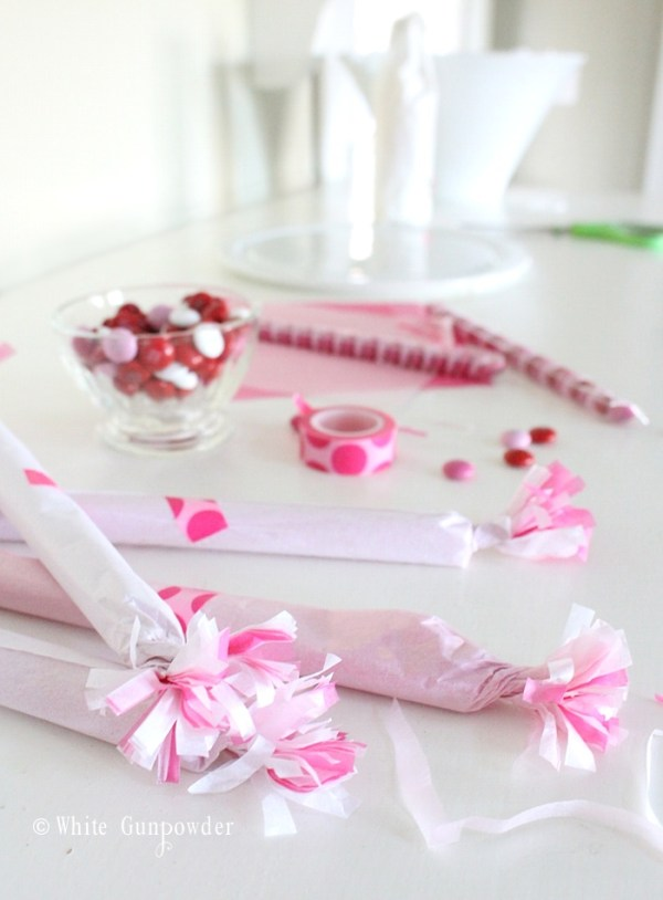 Valentine gift wrapping ~ M&Ms