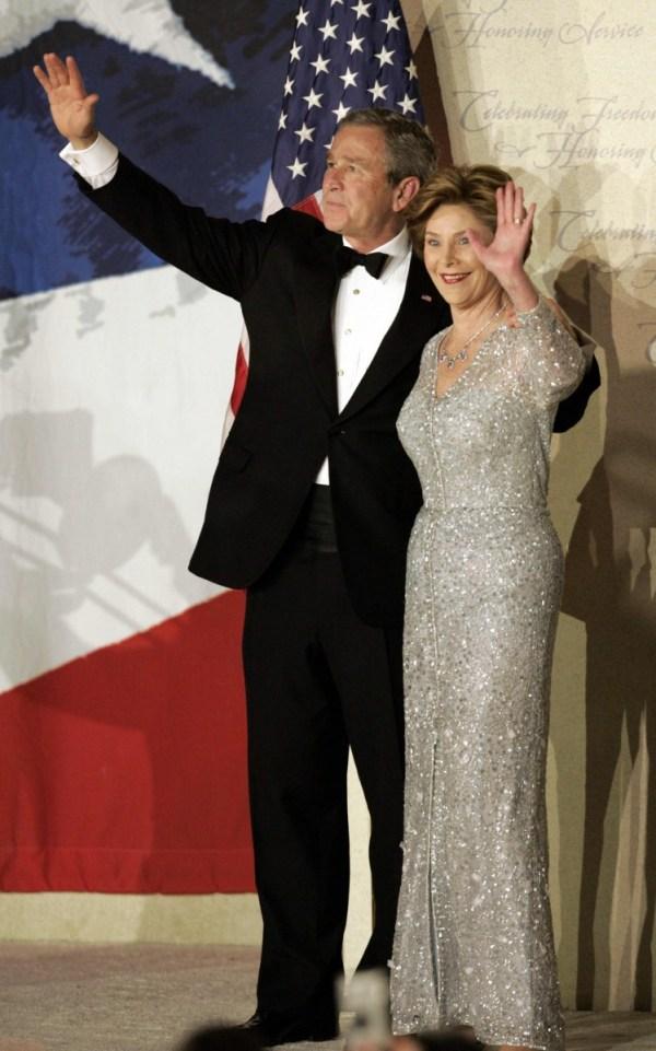 Oscar de la Renta ~  Laura Bush Inauguration  Ball 2005