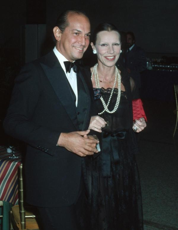 Oscar de la Rentan &bFrancoise de Langlade {1977}