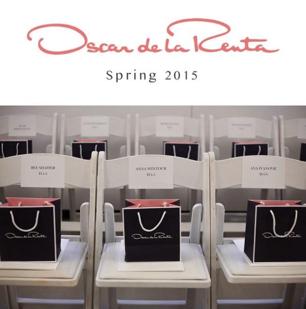 oscar de la renta - spring summer 2015