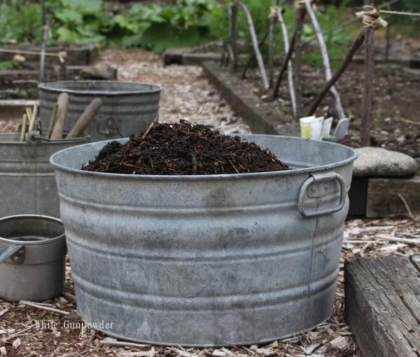 Gardening - compost