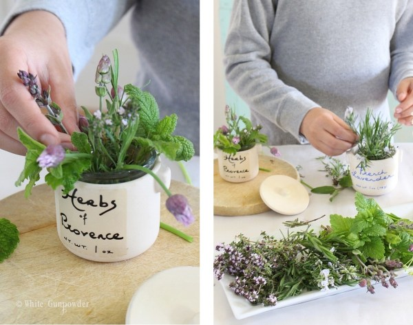 Mother's Day, herbs