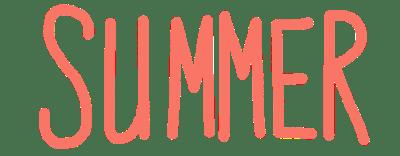 Swimming - summer - beach title, summer
