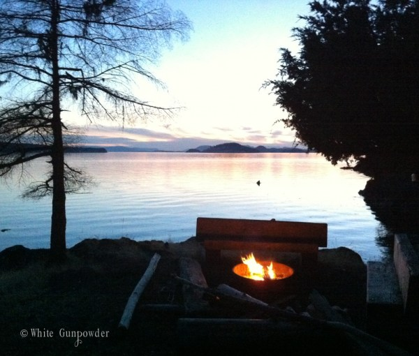 San Juan Islands, kayaking - camping