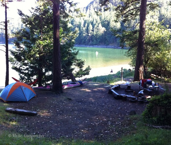 San Juan Islands, kayaking & camping