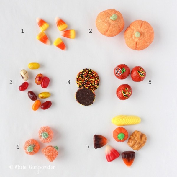 Halloween -pumpkin -candies