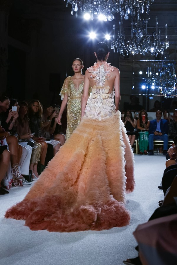 Marchesa Women Fashion Show, Ready to Wear Collection Spring Summer 2016 in New York