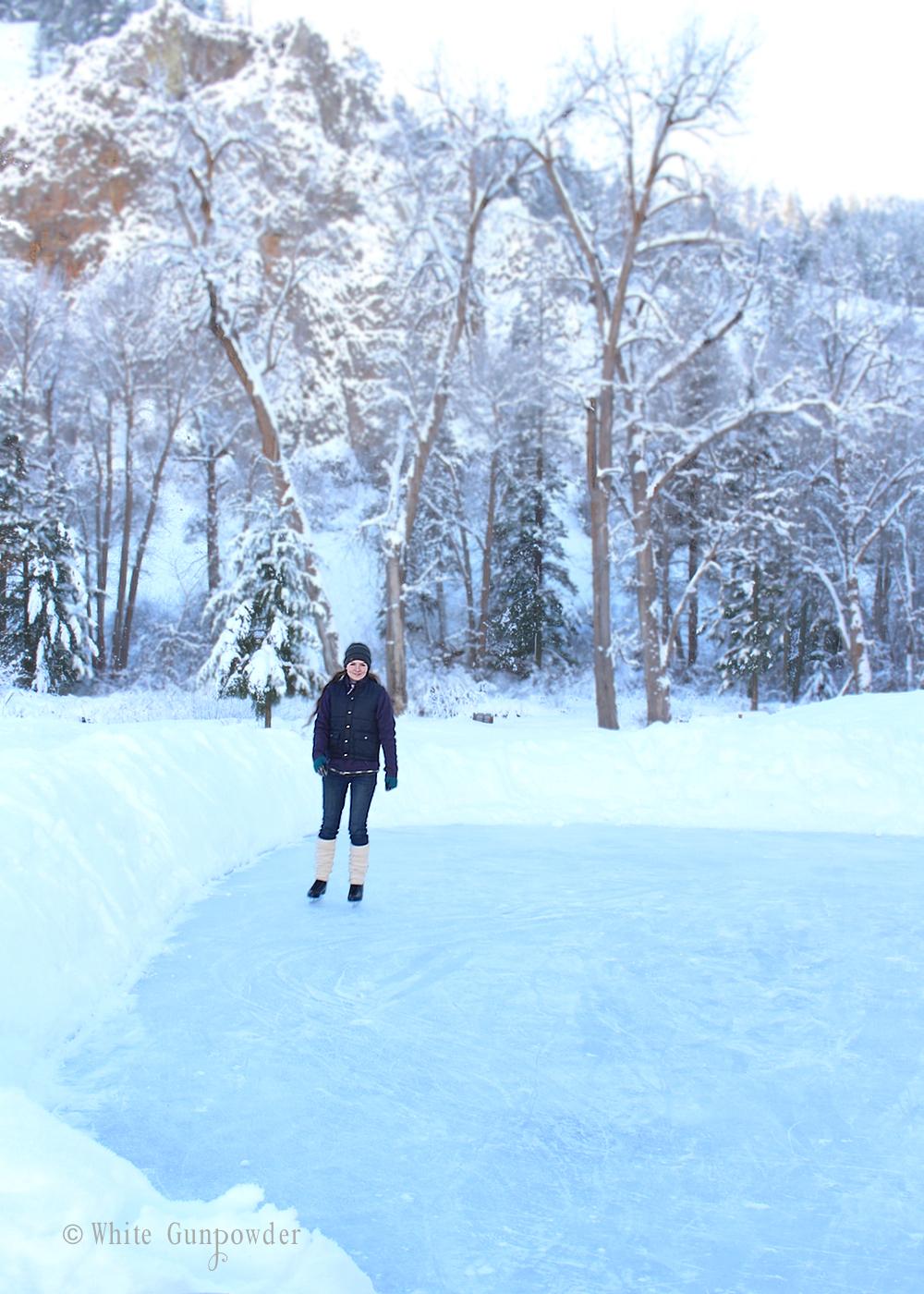 winter snow u0026 ice skating white gunpowder