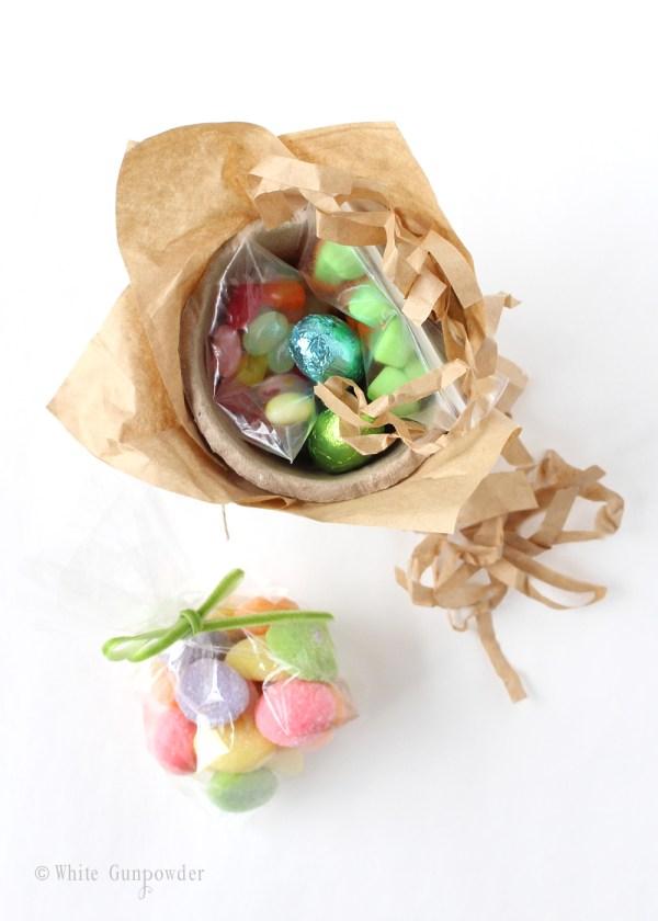 diy Easter treat cups