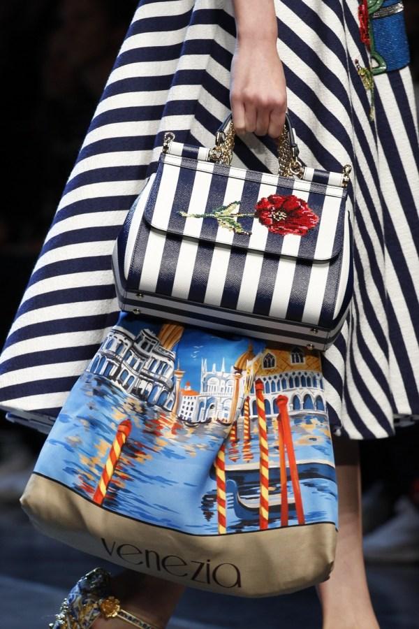 Fashion-stripes, Dolce Gabbana Spring 2016