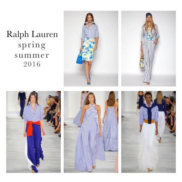 Fashion-stripes, Ralph Lauren spring 2016