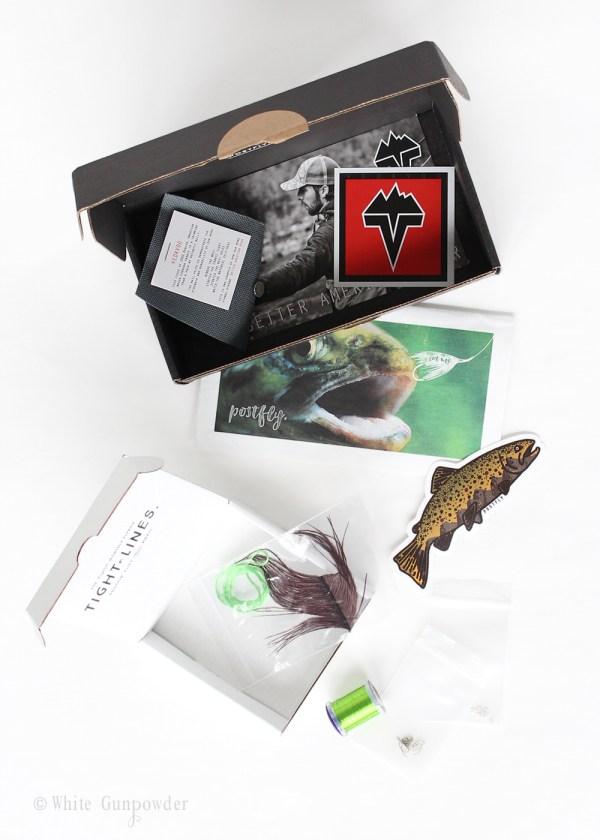 Postfly Box, Father's Day gift -1white gunpowder