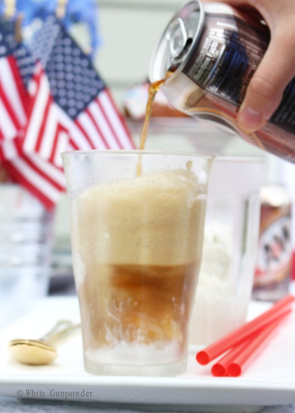 Forth of July - root beer floats