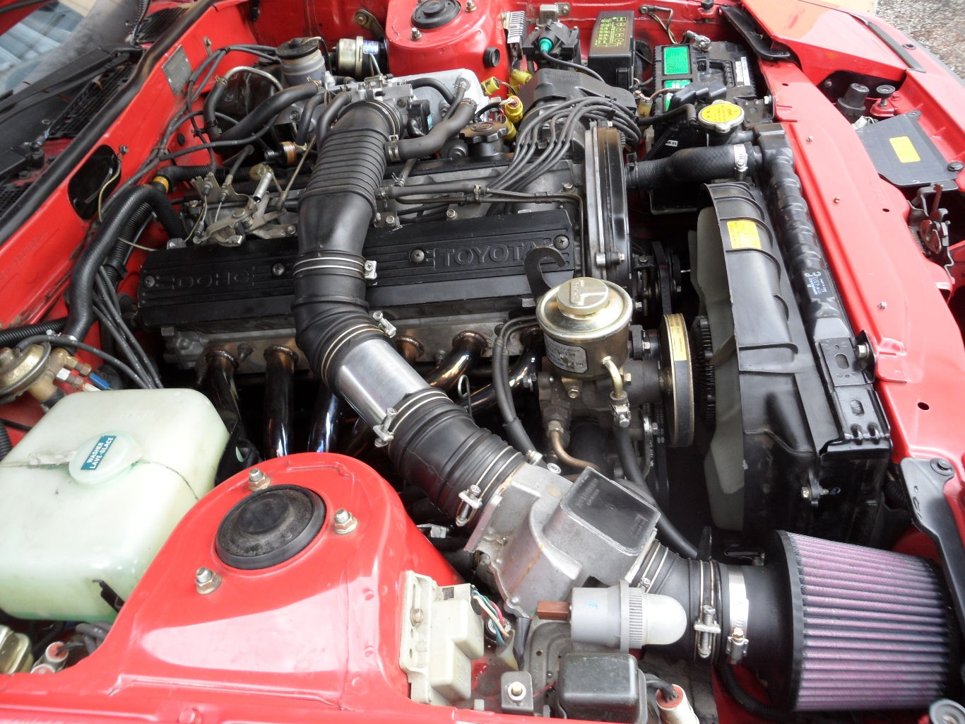 hight resolution of 1983 toyota supra 6mge engine