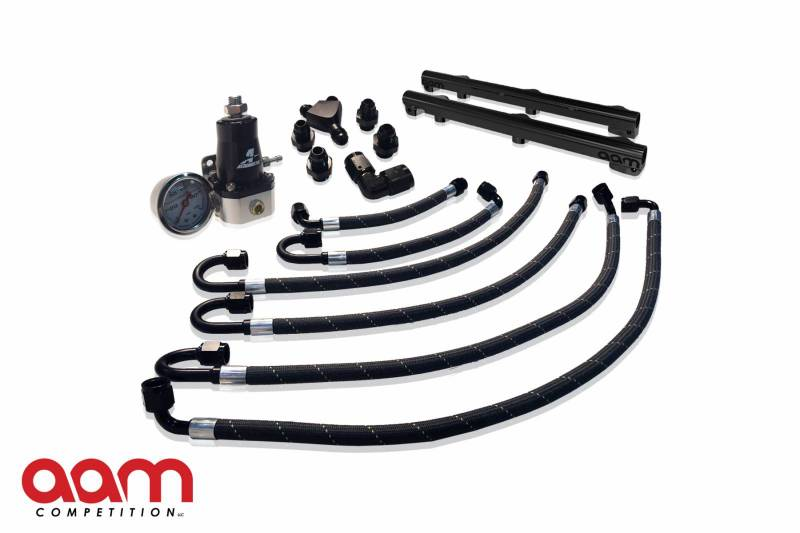 AAM Competition Fuel Rail & Line Kit Nissan 370Z 2009