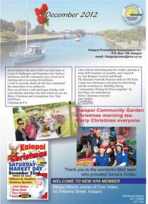 December Newsletter P1