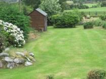 Vegetable garden at White Heather Farmhouse, Kenmare