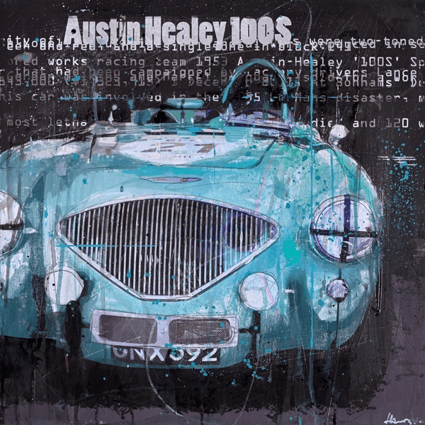 Austin Healey 100S - Markus Haub - Original Artwork