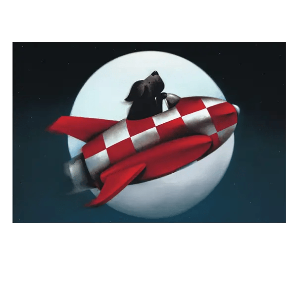 The Moon and Back - Doug Hyde - Limited Edition