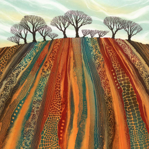 Earth Lines - Rebecca Vincent - Limited Edition