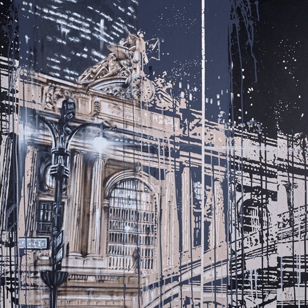 Grand Central Station - Kris Hardy - Original Artwork