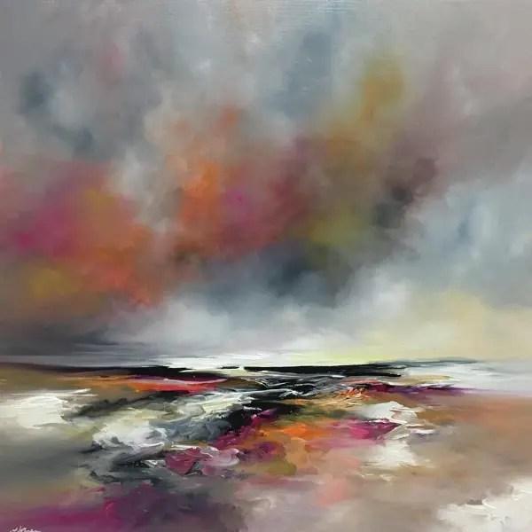 Autumn Sun - Alison Johnson - Original Artwork