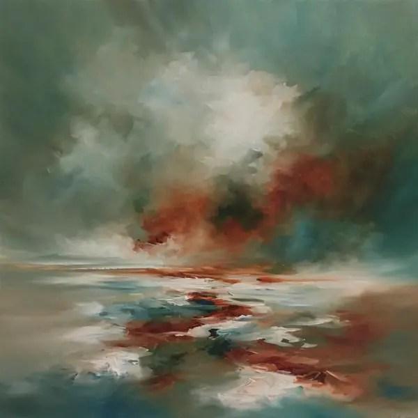 Sky Motions Awakes - Alison Johnson - Original Artwork