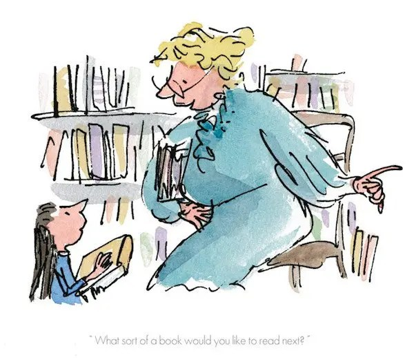 What Sort Of Book Would You Like To Read - Quentin Blake - Limited Edition