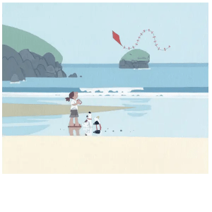 The Kite At Porthreath - Sasha Harding - Limited Edition