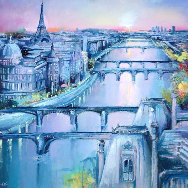 The Sights of Paris III - Anna Gammans - Original Artwork