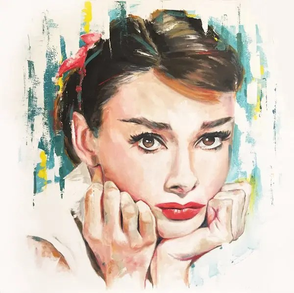 Audrey Hepburn - Leanne Gilroy - Limited Edition