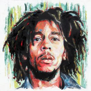 Bob Marley- Leanne Gilroy - Limited Edition