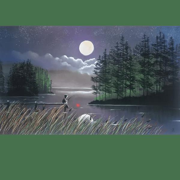 I'll Catch You The Moon - Mackenzie Thorpe - Limited Edition