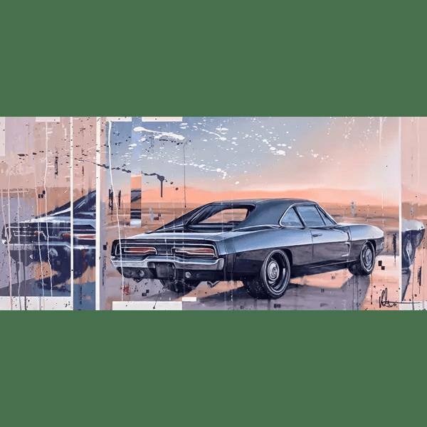 Charger - Kris Hardy - Original Artwork