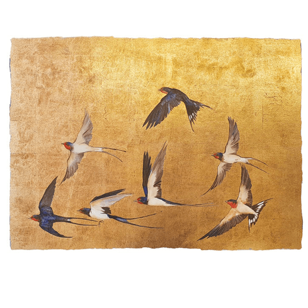 Golden Flight of Swallows - Jackie Morris - Limited Edition