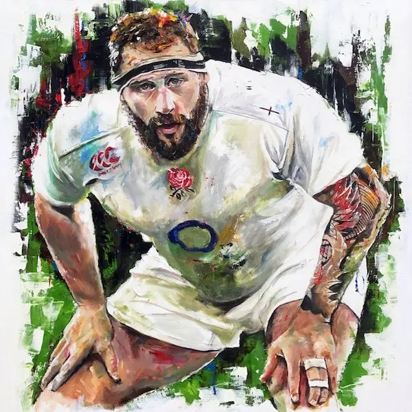 Joe Marler - Leanne Gilroy - Limited Edition
