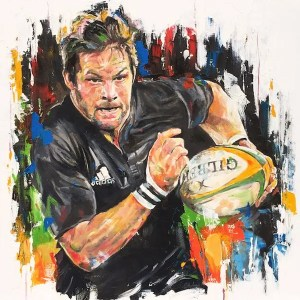 Richard Hugh McCaw - Leanne Gilroy - Limited Edition