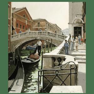 Rio Di Palazzo Venice - Jeremy Barlow - Limited Edition