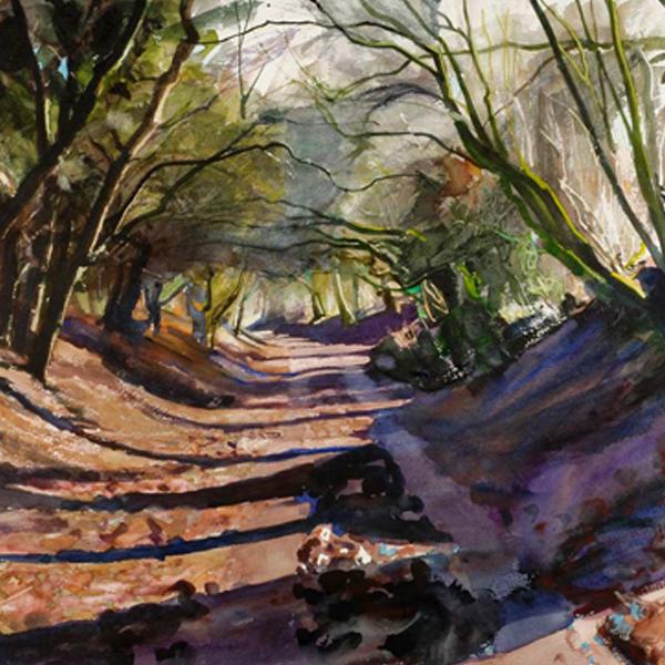 Winter Lane - Bob Rudd - Limited Edition