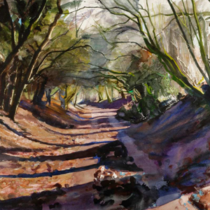 Winter Lane - Bob Rudd - Limited Edition